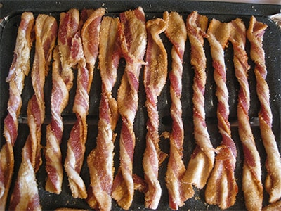 Spiced Twisted Bacon