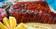 Spicy Orange Back Ribs